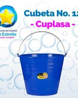 CUBETA PLASTICO VIRGEN #12 // CUPLASA