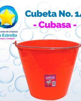 CUBETA PLASTICO VIRGEN #14 // CUBASA