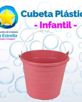 CUBETA PLASTICO INFANTIL ECONOMICA