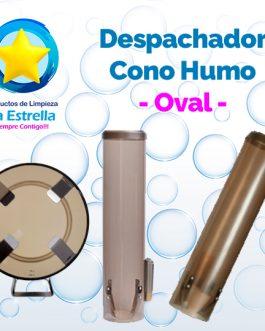 DESPACHADOR CONO COLOR HUMO // OVAL
