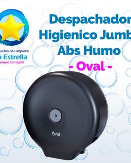 DESPACHADOR HIGIENICO JUMBO ABS HUMO // OVAL