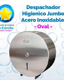 DESPACHADOR HIGIENICO JUMBO ACERO INOXIDABLE // OVAL
