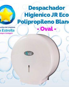 DESPACHADOR HIGIENICO JUNIOR ECO POLIPROPILENO BLANCO // OVAL