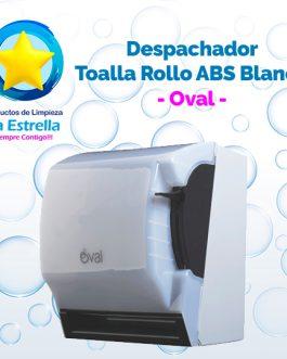DESPACHADOR TOALLA ROLLO ABS BLANCO // OVAL