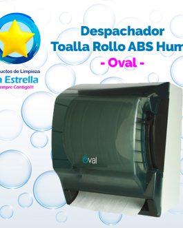 DESPACHADOR TOALLA ROLLO ABS HUMO // OVAL