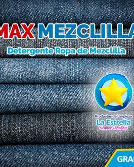 DETERGENTE MAX MEZCLILLA
