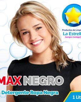 DETERGENTE MAX NEGRO (ENVASADO 1 L.)