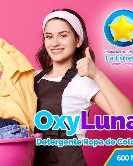DETERGENTE OXY LUNA (ENVASADO 600 ML)