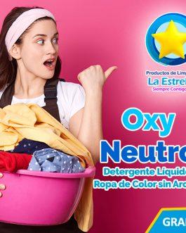 DETERGENTE OXY NEUTRO