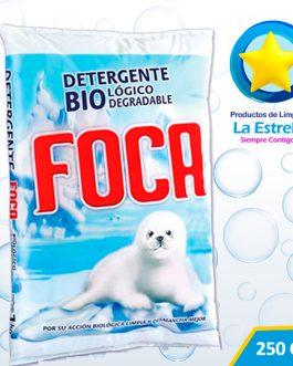 DETERGENTE POLVO 250 GRS. // FOCA