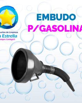 EMBUDO P/GASOLINA***