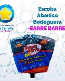 ESCOBA ABANICO BODEGUERA // BARRE BARRE***