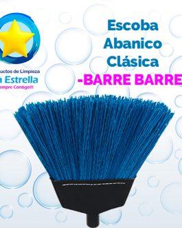 ESCOBA ABANICO CLASICA // BARRE BARRE ***