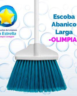ESCOBA ABANICO LARGA // OLIMPIA ***