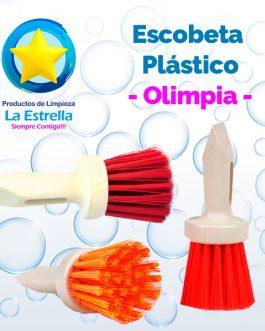 ESCOBETA PLASTICO // OLIMPIA***