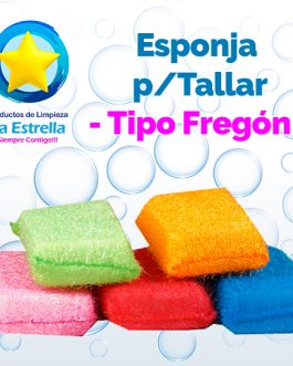 ESPONJA P/TALLAR TIPO FREGON ***