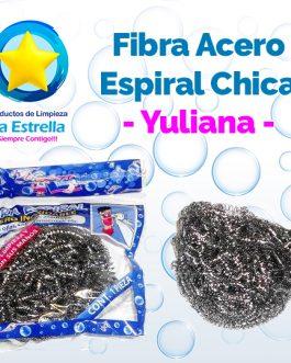 FIBRA ACERO ESPIRAL CHICA // YULIANA ***