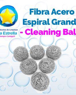 FIBRA ACERO ESPIRAL GRANDE // CLEANING BALL***