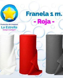 FRANELA ROJA 1 M.