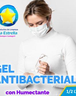 GEL ANTIBACTERIAL NATURAL (EMBOLSADO 1/2 LTR.)