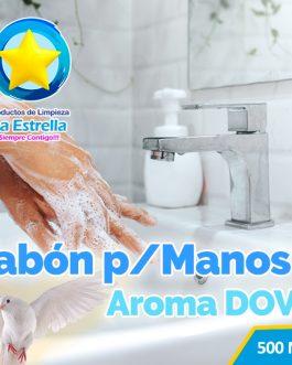 JABON LIQUIDO ANTIBACTERIAL P/MANOS AROMA DOVI (EMBOLSADO 500ML)