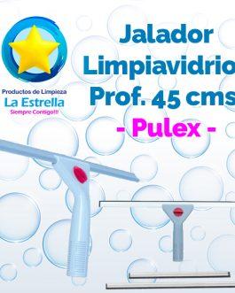 JALADOR LIMPIAVIDRIOS C/MANGO DE PLASTICO 45 CMS (SIN BASTON) // PULEX – EL CASTOR