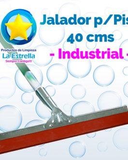 JALADOR P/PISOS 40 CMS INDUSTRIAL C/BASTON***