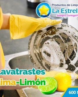 LAVATRASTES LIMA LIMON (ENVASADO 600 ML)