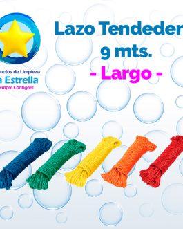 LAZO PLASTICO P/TENDEDERO LARGO 9 MTS.***
