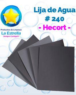 LIJA DE AGUA #240