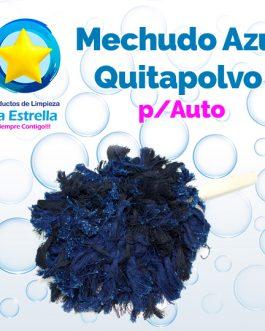 MECHUDO AZUL QUITAPOLVO P/AUTO