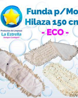 MOP FUNDA HILAZA BLANCA 150 CMS ***