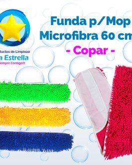 MOP FUNDA MICROFIBRA 60 CMS ***