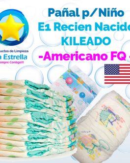 PAÑAL NIÑO ETAPA 1 RECIEN NACIDO KILEADO // AMERICANO FQ