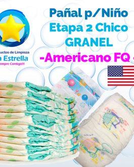 PAÑAL NIÑO ETAPA 2 – CHICO GRANEL // AMERICANO FQ