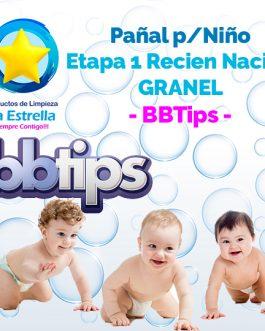 PAÑAL NIÑO ETAPA 1 – RECIEN NACIDO GRANEL // BBTIPS