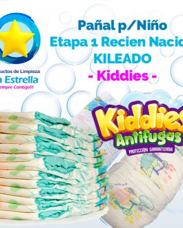PAÑAL NIÑO ETAPA 1 – RECIEN NACIDO KILEADO // KIDDIES