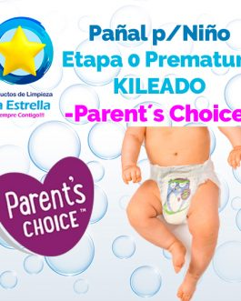 PAÑAL NIÑO ETAPA 0 – PREMATURO KILEADO // PARENT´S CHOICE