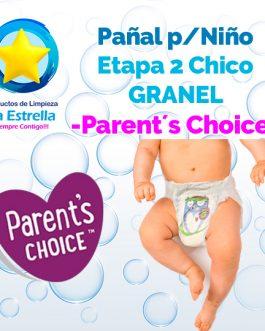 PAÑAL NIÑO ETAPA 2 – CHICO GRANEL // PARENT´S CHOICE