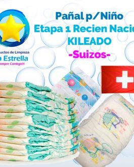 PAÑAL NIÑO ETAPA 1 – RECIEN NACIDO KILEADO // SUIZO