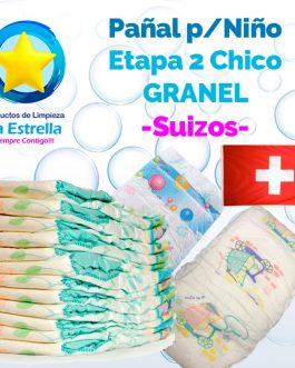 PAÑAL NIÑO ETAPA 2 – CHICO GRANEL // SUIZO