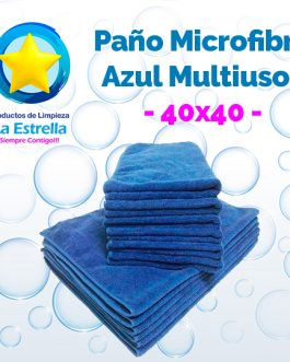 PAÑO MICROFIBRA MULTIUSOS CHICA ECO 40×40 CMS.