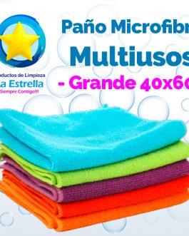 PAÑO MICROFIBRA MULTIUSOS GRANDE ECO 40X60 CMS