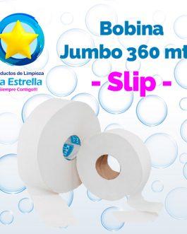 BOBINA HIGIENICO INSTITUCIONAL JUMBO 360 MTS. // SLIP **PIEZA**