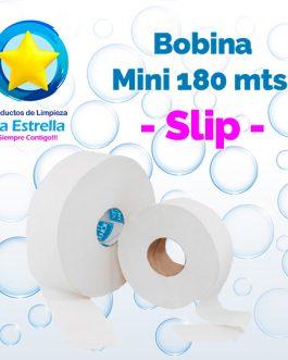BOBINA HIGIENICO INSTITUCIONAL MINI 180 MTS. // SLIP **PIEZA**
