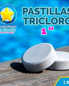 PASTILLAS TRICLORO 1KG // 1» – 14 GRS.