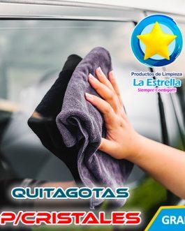 QUITAGOTAS LIQUIDO P/CRISTALES