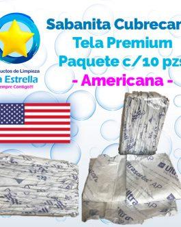 SÁBANA CUBRECAMA TELA PREMIUM (10 PZS) // AMERICANA