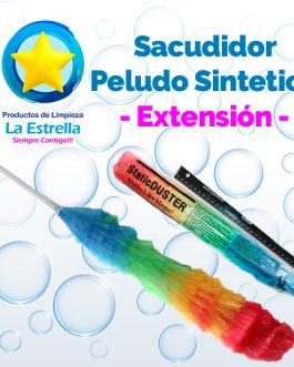 SACUDIDOR PELUDO SINTETICO C/EXTENSION***