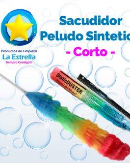 SACUDIDOR PELUDO SINTETICO CORTO ***